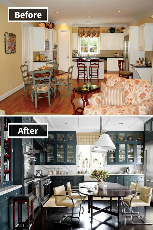Những hình ảnh trước và sau khi phòng cũ được phù phép thành phòng mới khiến quý khách chẳng thể tin vào mắt mình - Ảnh 15.