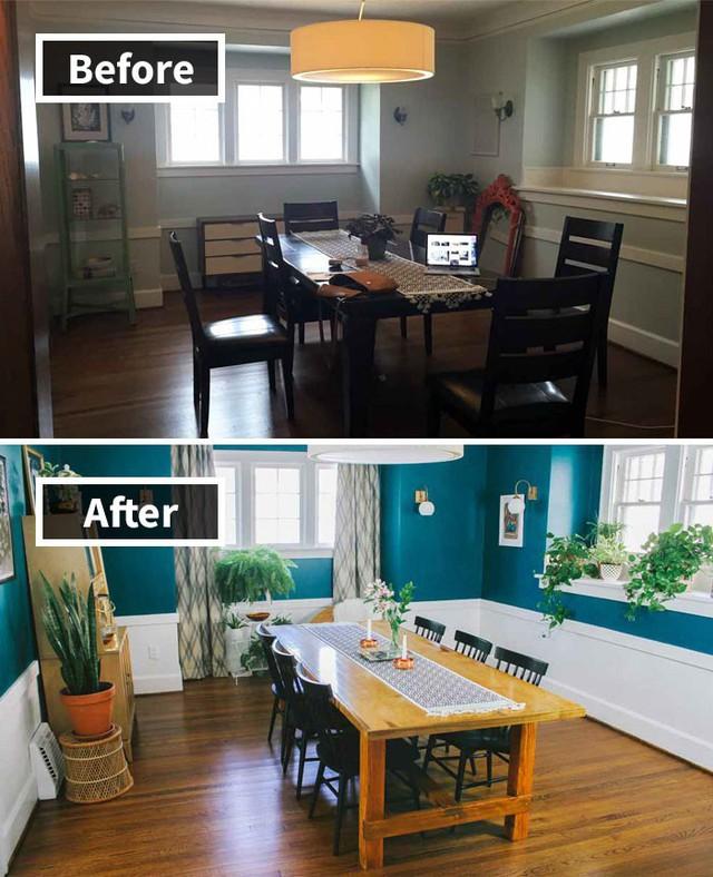 Những hình ảnh trước và sau khi phòng cũ được phù phép thành phòng mới khiến quý khách chẳng thể tin vào mắt mình - Ảnh 16.