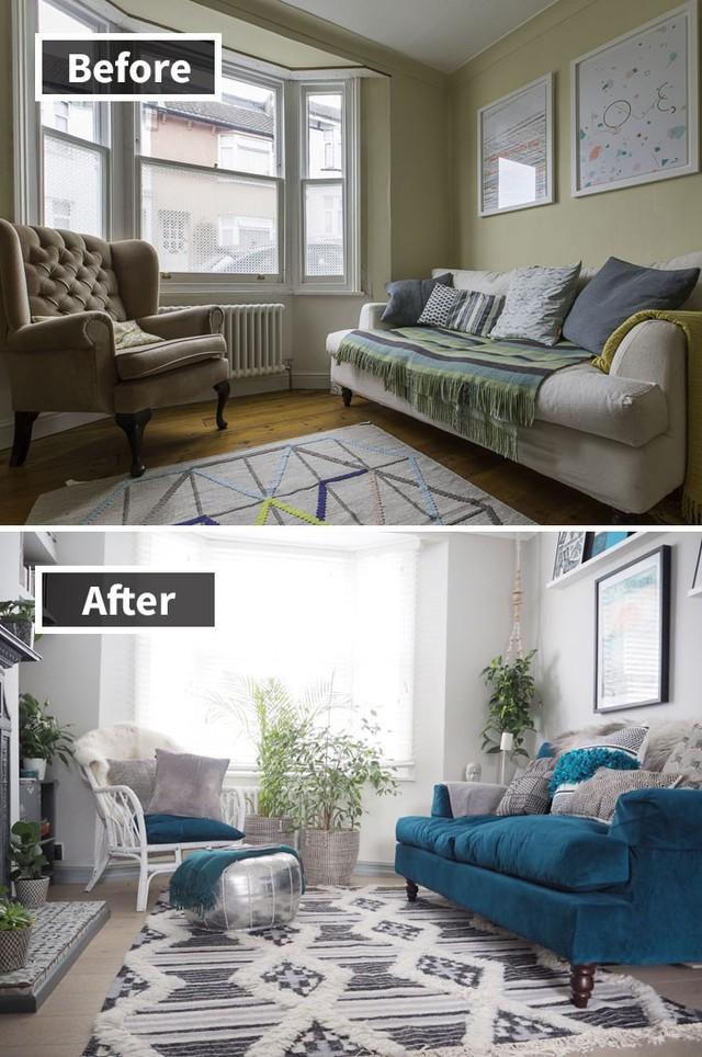 Những hình ảnh trước và sau khi phòng cũ được phù phép thành phòng mới khiến quý khách chẳng thể tin vào mắt mình - Ảnh 19.