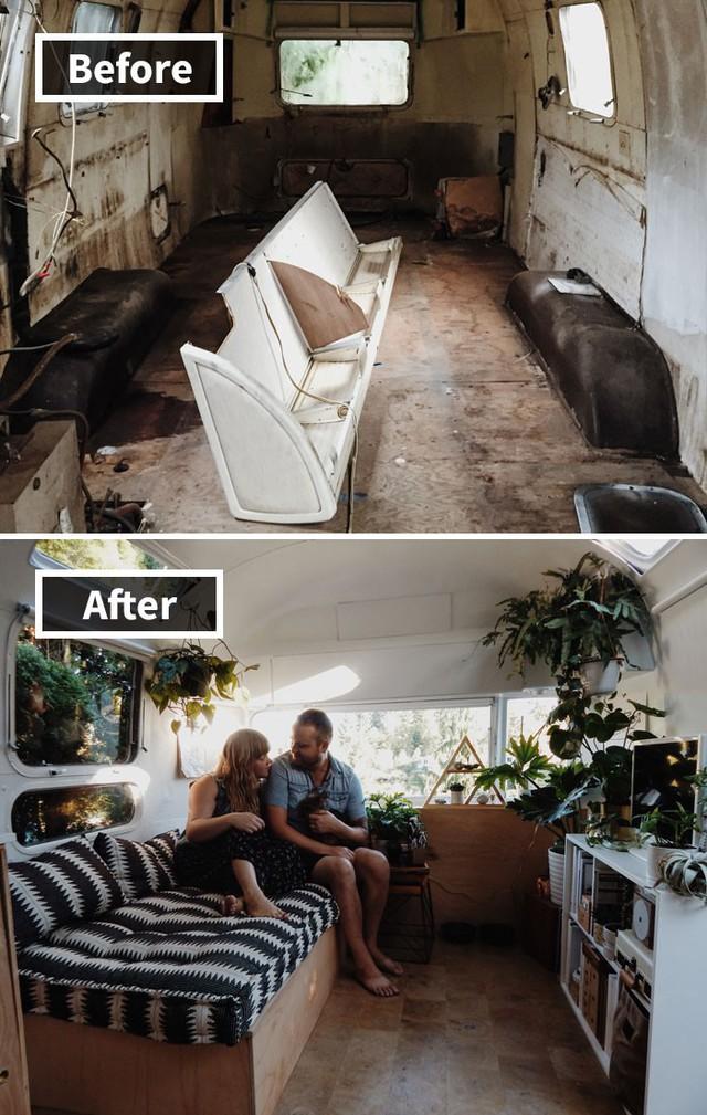 Những hình ảnh trước và sau khi phòng cũ được phù phép thành phòng mới khiến quý khách chẳng thể tin vào mắt mình - Ảnh 3.
