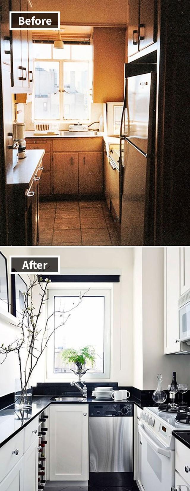 Những hình ảnh trước và sau khi phòng cũ được phù phép thành phòng mới khiến quý khách chẳng thể tin vào mắt mình - Ảnh 5.