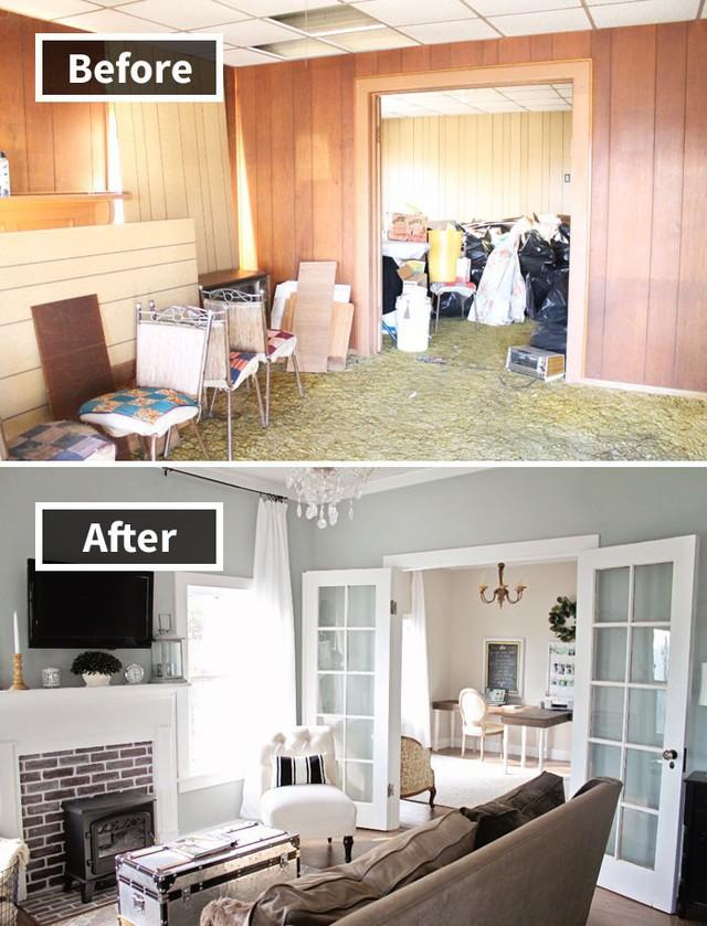 Những hình ảnh trước và sau khi phòng cũ được phù phép thành phòng mới khiến quý khách chẳng thể tin vào mắt mình - Ảnh 6.