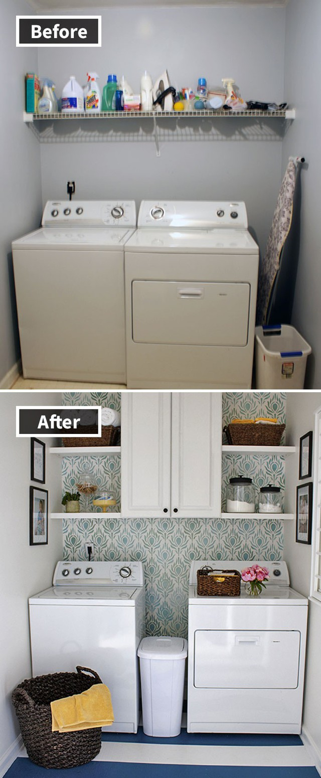 Những hình ảnh trước và sau khi phòng cũ được phù phép thành phòng mới khiến quý khách chẳng thể tin vào mắt mình - Ảnh 8.