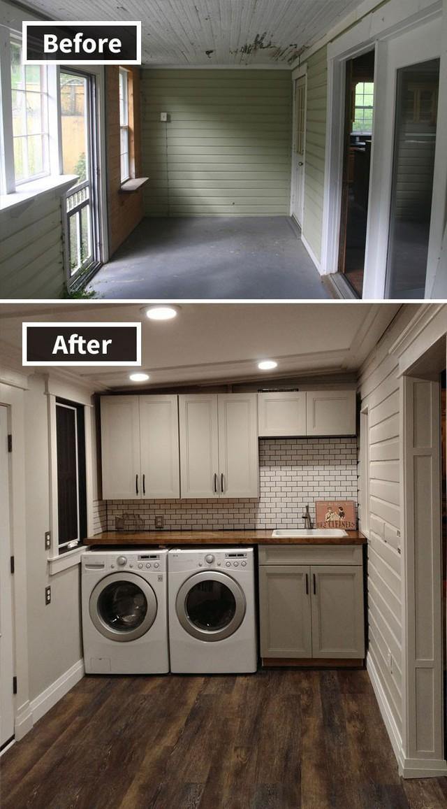 Những hình ảnh trước và sau khi phòng cũ được phù phép thành phòng mới khiến quý khách chẳng thể tin vào mắt mình - Ảnh 10.