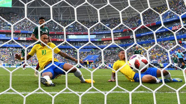 Neymar rực sáng, điệu samba đạp bằng xương rồng Mexico hướng về ngôi vô địch - Ảnh 2.