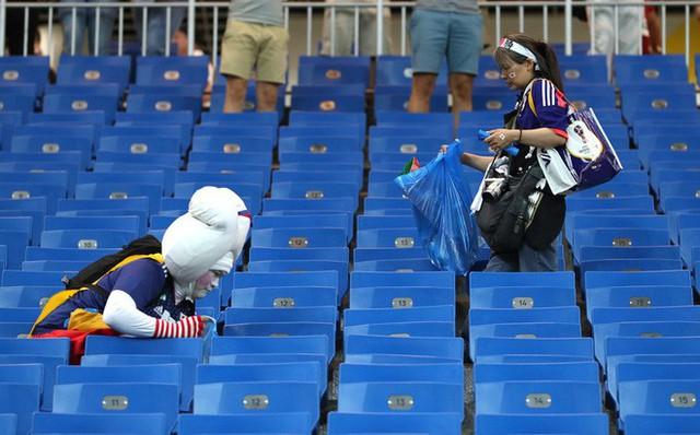 Đây là phòng thay đồ của đội tuyển Nhật Bản sau trận thua Bỉ, sạch sẽ tinh tươm như chưa từng được sử dụng - Ảnh 2.