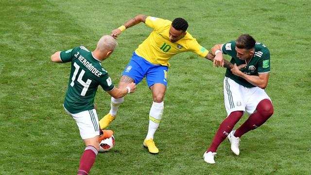 Neymar rực sáng, điệu samba đạp bằng xương rồng Mexico hướng về ngôi vô địch - Ảnh 3.