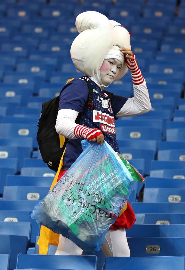 Đây là phòng thay đồ của đội tuyển Nhật Bản sau trận thua Bỉ, sạch sẽ tinh tươm như chưa từng được sử dụng - Ảnh 3.