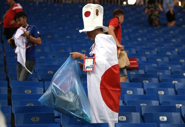 Đây là phòng thay đồ của đội tuyển Nhật Bản sau trận thua Bỉ, sạch sẽ tinh tươm như chưa từng được sử dụng - Ảnh 4.
