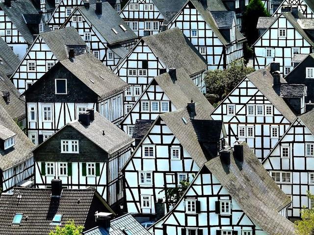 """Freudenberg - Thị trấn độc nhất nước Đức với hàng chục nhà trông như 1, tìm nhà gian nan chẳng khác gì """"mò kim đáy bể"""" - Ảnh 3."""