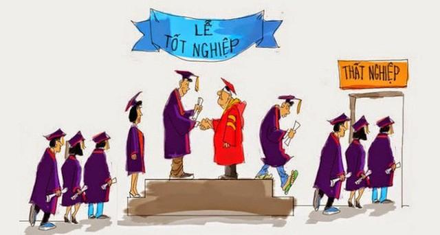 Có một sự thật nghiệt ngã là: Áp lực phải đỗ đại học không đáng sợ bằng combo hậu đại học: Nghèo + Thất nghiệp + Thất tình - Ảnh 1.