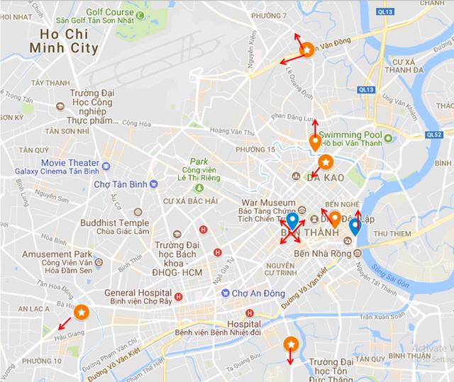 Lazada vs Tiki: Cuộc chiến Billboard ở TP Hồ Chí Minh - Ảnh 1.