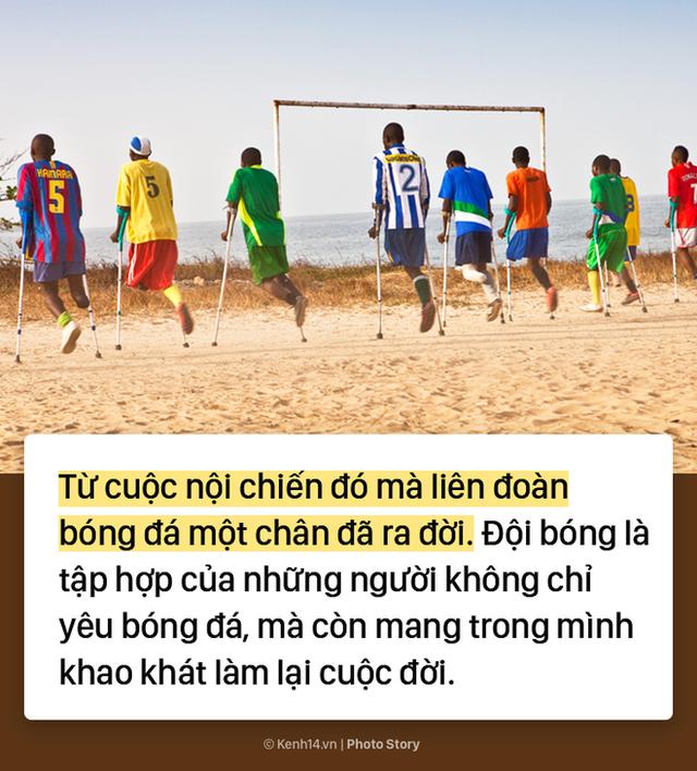 Đội bóng 1 chân tại Châu Phi chứng minh sức mạnh kinh khủng của bóng đá - Ảnh 3.