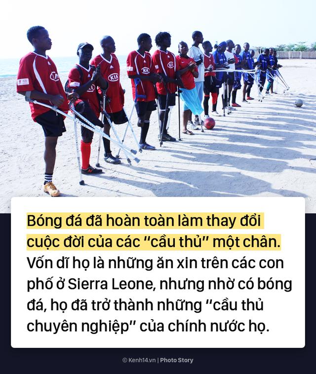 Đội bóng 1 chân tại Châu Phi chứng minh sức mạnh kinh khủng của bóng đá - Ảnh 7.