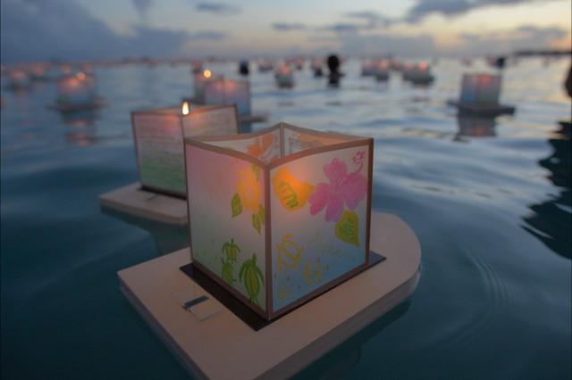 Lễ hội đèn lồng đặc biệt của người Hawaii - Ảnh 2.