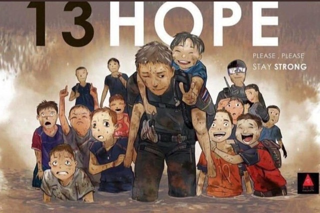 đầu tư giá trị - photo 1 15311316722552007734984 - Những bức tranh dễ thương và ý nghĩa của dân mạng về hành trình giải cứu đội bóng Thái mắc kẹt