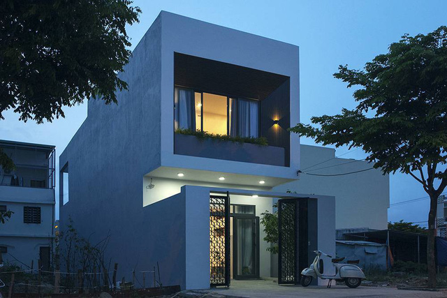 Ngôi nhà trẻ trung, ấm cúng của cặp vợ chồng trẻ với chi phí 950 triệu ở Đà Nẵng - Ảnh 2.