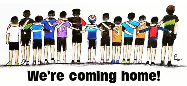 đầu tư giá trị - photo 12 1531131673824190462090 - Những bức tranh dễ thương và ý nghĩa của dân mạng về hành trình giải cứu đội bóng Thái mắc kẹt