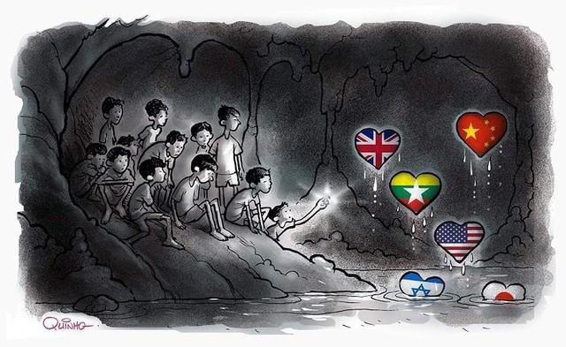 đầu tư giá trị - photo 4 1531131673812708575941 - Những bức tranh dễ thương và ý nghĩa của dân mạng về hành trình giải cứu đội bóng Thái mắc kẹt