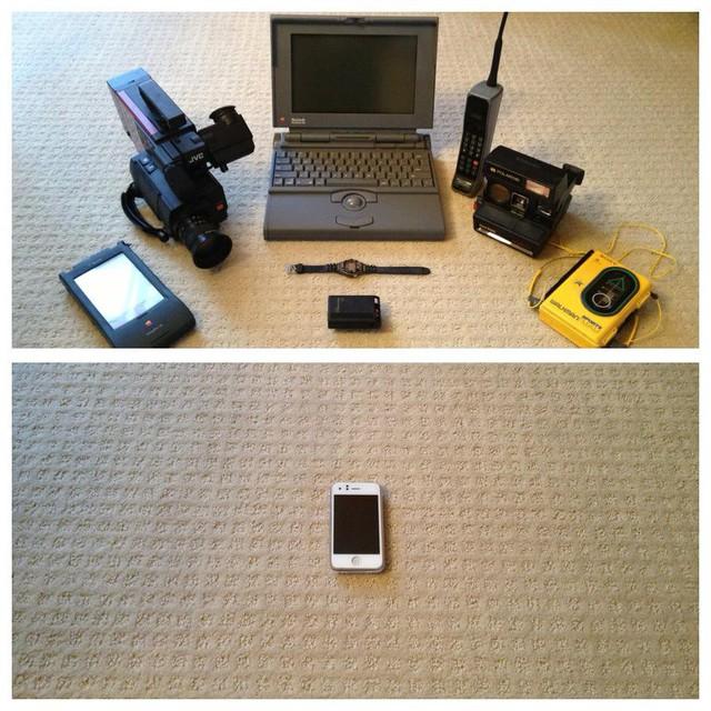 Những bức ảnh khiến bạn giật mình khi nhận ra công nghệ đã thay đổi cuộc sống của chúng ta nhiều như thế nào - Ảnh 7.