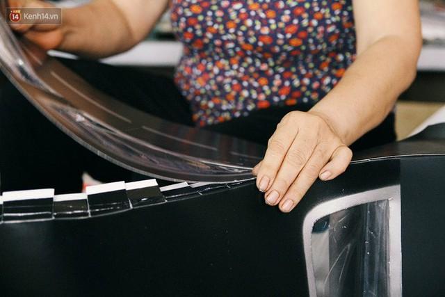 Làng vàng mã sản xuất xe hơi, túi hiệu cho người cõi âm tất bật trong tháng cô hồn: Xe mui trần đắt nhất 2 triệu đồng - Ảnh 18.