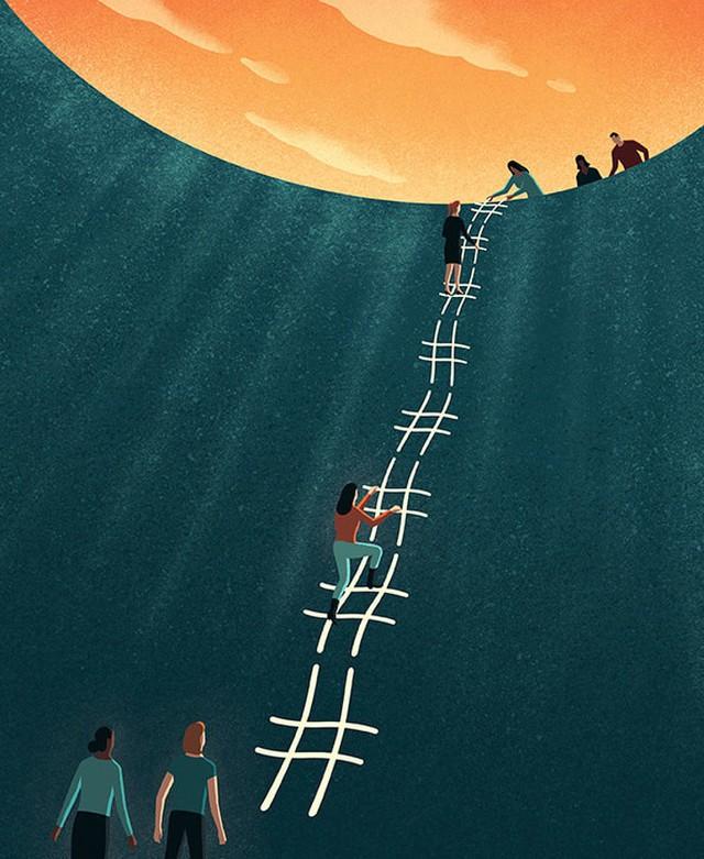 Những bức biếm họa sâu cay về cuộc sống hiện đại khiến ai cũng phải giật mình - Ảnh 4.