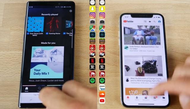 đầu tư giá trị - photo 1 15352495749431741008414 - Đọ hiệu năng iPhone X và Galaxy Note 9: iPhone mở nhanh hơn, đa nhiệm kém hơn
