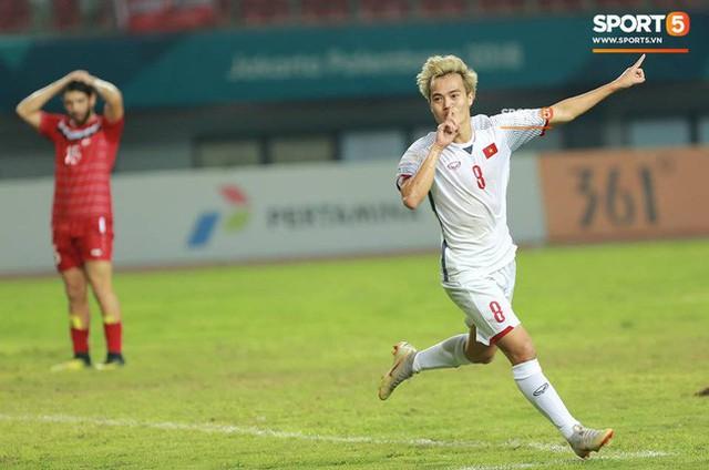 Quang Hải đổ máu, Duy Mạnh đau đớn rời sân trong ngày Olympic Việt Nam làm nên lịch sử - Ảnh 7.