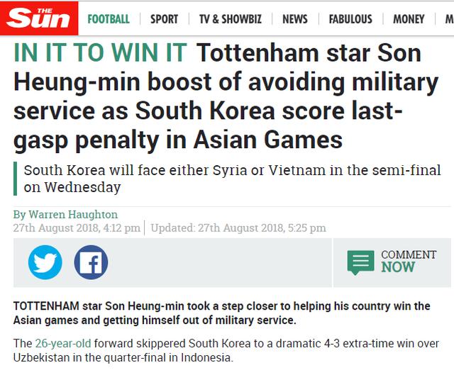 đầu tư giá trị - photo 1 15355077067602035037761 - Báo Anh cảnh báo: Olympic Việt Nam có thể khiến Son Heung-min phải đi nghĩa vụ quân sự