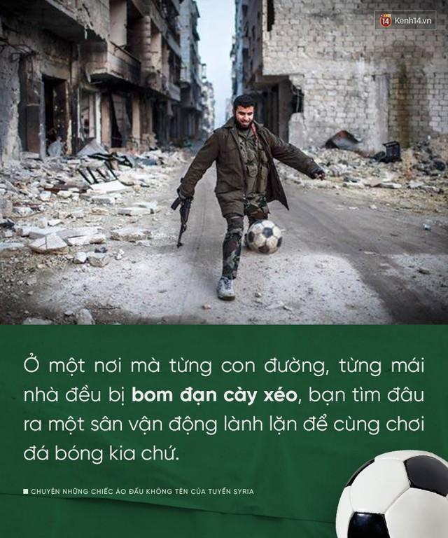 đầu tư giá trị - photo 1 15355080334481076685939 - Chuyện những chiếc áo đấu không tên của tuyển Syria: Giấc mơ bóng đá từ nơi còn chẳng hề có sân vận động