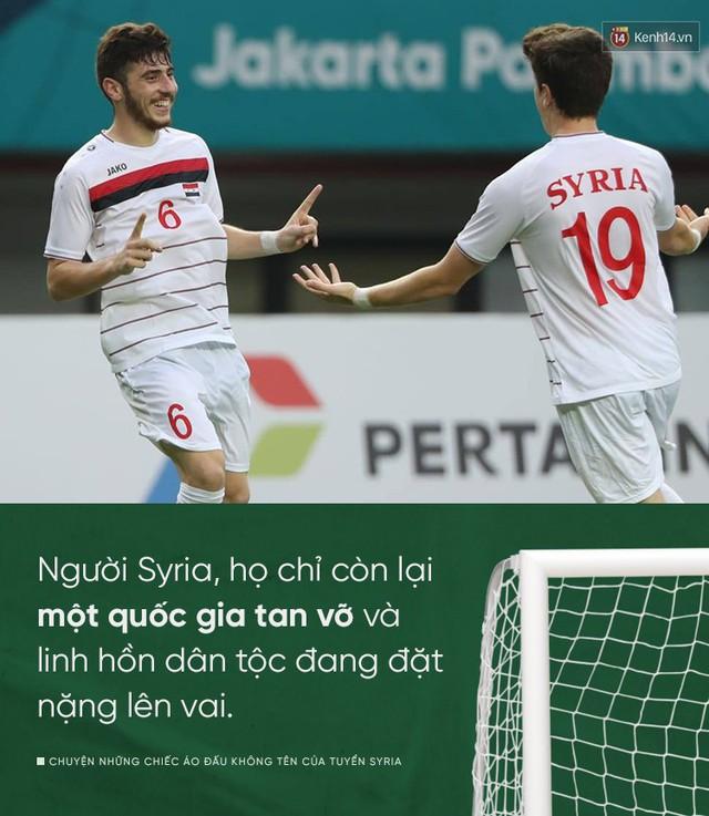 đầu tư giá trị - photo 1 1535508035908897513251 - Chuyện những chiếc áo đấu không tên của tuyển Syria: Giấc mơ bóng đá từ nơi còn chẳng hề có sân vận động