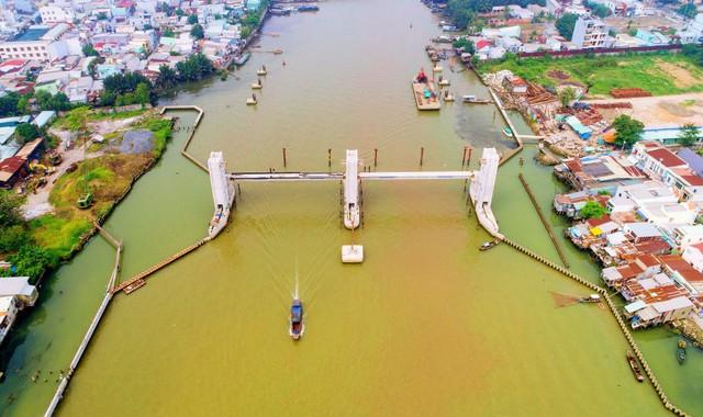 Chùm ảnh: Toàn cảnh sự bất động của loạt công trình chống ngập ở Sài Gòn vì... thiếu vốn, không còn bóng công nhân - Ảnh 19.