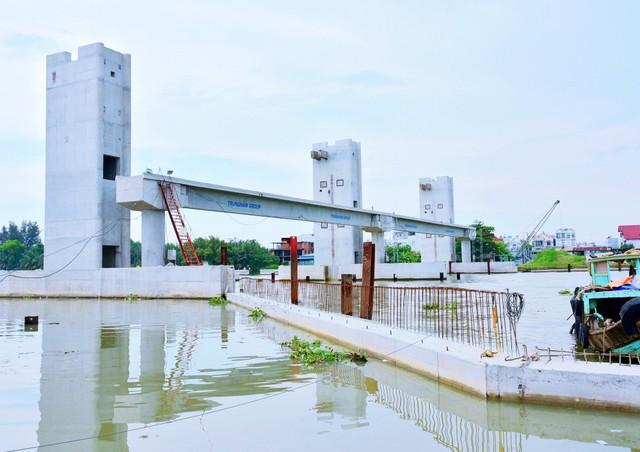 Chùm ảnh: Toàn cảnh sự bất động của loạt công trình chống ngập ở Sài Gòn vì... thiếu vốn, không còn bóng công nhân - Ảnh 20.
