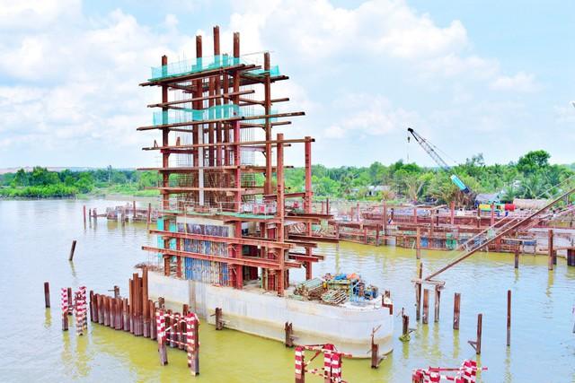 Chùm ảnh: Toàn cảnh sự bất động của loạt công trình chống ngập ở Sài Gòn vì... thiếu vốn, không còn bóng công nhân - Ảnh 7.