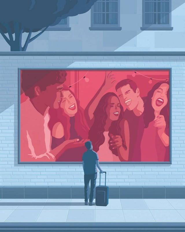 Bộ tranh đúng đến giật mình về cuộc sống hiện đại, ai xem xong cũng thấy mình trong đó - Ảnh 3.