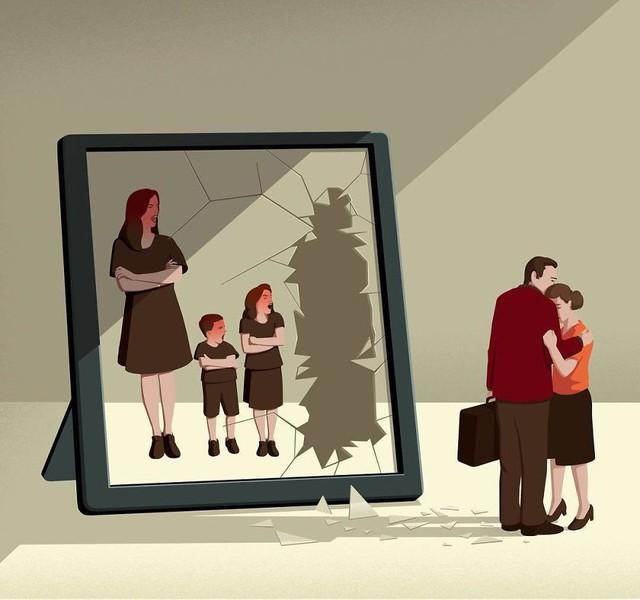 Bộ tranh đúng đến giật mình về cuộc sống hiện đại, ai xem xong cũng thấy mình trong đó - Ảnh 8.