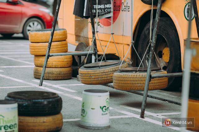 Phát hiện quán cà phê bus cực nhiều góc sống ảo ngay tại Hà Nội cho những ai còn băn khoăn cuối tuần không biết đi đâu - Ảnh 9.