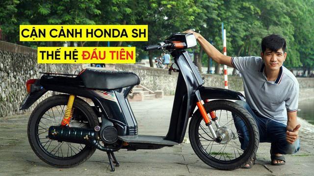 Thợ Việt hồi sinh Honda SH đời đầu 1984 từ đống phế liệu thành hàng hiếm trên phố - Ảnh 1.