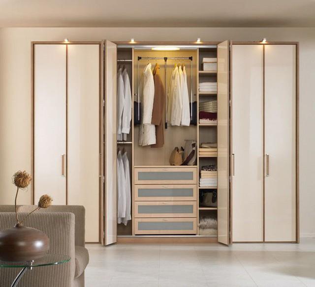 Chọn tủ quần áo đúng phong thủy cho nhà thịnh vượng, hạnh phúc bền lâu - Ảnh 1.