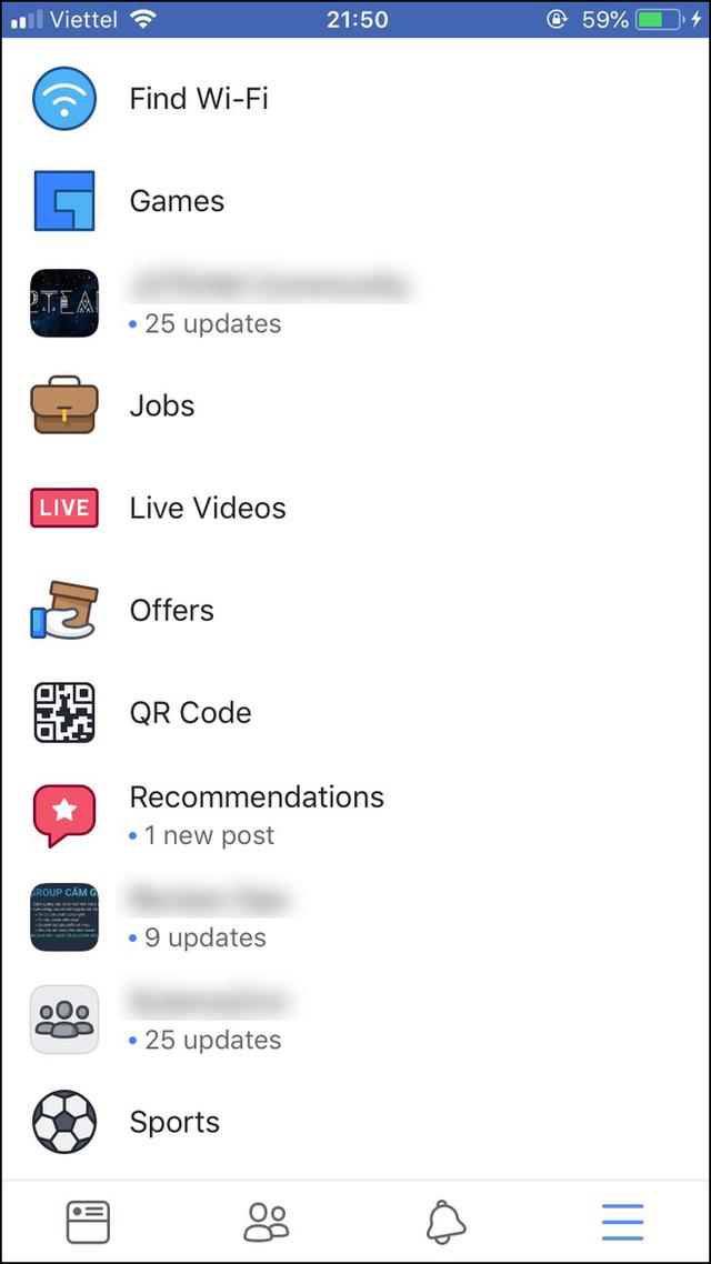 Facebook Việt Nam mới có mục tìm việc nhanh: Nghề chuẩn sinh viên không thiếu, thông tin liên hệ làm việc dễ dàng - Ảnh 2.