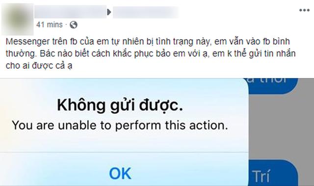 đầu tư giá trị - photo 1 153576940239831352017 - Ứng dụng Messenger gặp lỗi diện rộng trên mobile, đây là giải pháp khắc phục tạm thời