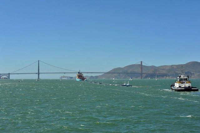 Hệ thống đầu tiên của dự án dọn rác biển The Ocean Cleanup đã chính thức ra khơi, đây là những hình ảnh về nó - Ảnh 20.