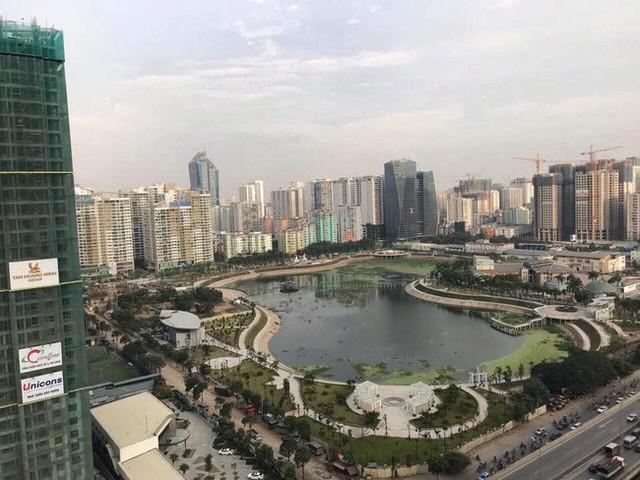 Cận cảnh công viên gần 300 tỷ nằm trên đất vàng tại Thanh Xuân - Hà Nội vừa mở cửa - Ảnh 1.