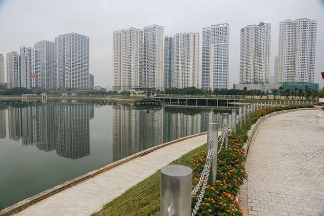 Cận cảnh công viên gần 300 tỷ nằm trên đất vàng tại Thanh Xuân - Hà Nội vừa mở cửa - Ảnh 2.