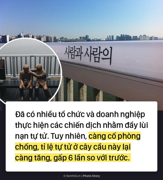 Cây cầu lãng mạn trong phim ở Hàn Quốc lại là nơi có tỷ lệ nhảy sông cao nhất ở đất nước này - Ảnh 6.