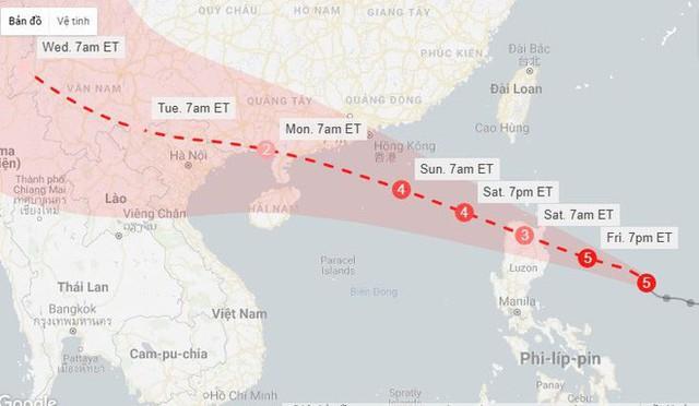 Siêu bão Mangkhut có thể đe dọa 10 triệu người, Philippines sơ tán khẩn cấp - Ảnh 3.