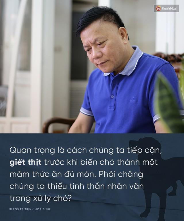 Nhà xã hội học, PGS.TS Trịnh Hoà Bình: Ăn thịt chó không phải là thước đo văn minh con người - Ảnh 3.