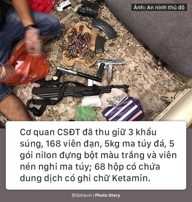 [PHOTO STORY] Gần 200 viên đạn, súng AK và bí mật của ông trùm trong căn biệt thự ở Hà Nội - Ảnh 9.