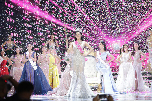Hành trình nhan sắc của Trần Tiểu Vy toả sáng đến ngôi vị Hoa hậu Việt Nam 2018 - Ảnh 10.