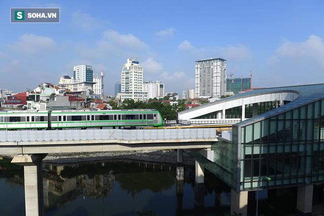 13 đoàn tàu đường sắt Cát Linh - Hà Đông đang chạy thử trong sáng nay - Ảnh 18.